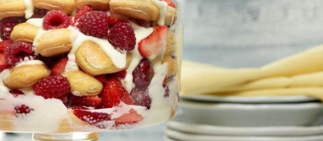 Lemon Tiramisu Trifle Recipe | Food Network Kitchen | Food Network