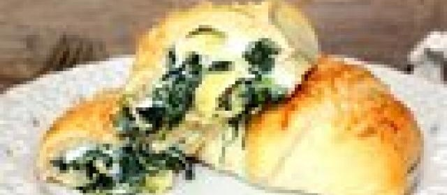Spinach and Artichoke-Stuffed Crescents