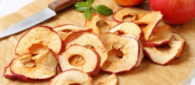 Spiced Apple Crisps
