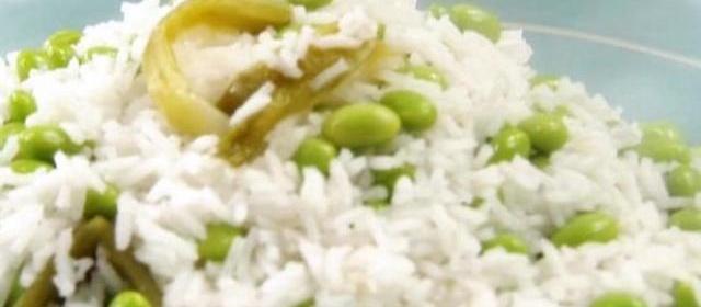 Ginger Edamame Rice Recipe