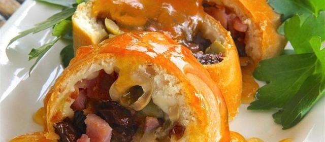Venezuelan Swirled Ham Bread