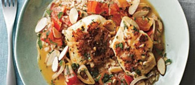 Spanish-Style Cod in Tomato Broth
