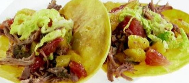 Pulled Pork Tacos with Citrus Salsa