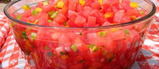 Watermelon Pico de Gallo Recipe | Ree Drummond | Food Network