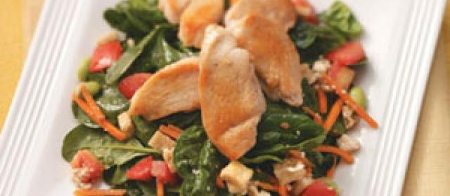 Chicken & Pita Salad