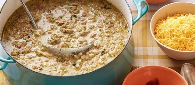 Ranch-Style Turkey Chili Recipe | Rachael Ray | Food Network
