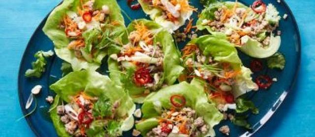 Ham, Swiss and Apple Wraps Recipe | Food Network Kitchen | Food ...