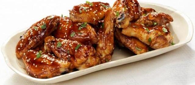 Teriyaki Chicken Wings Recipe | Tyler Florence | Food Network