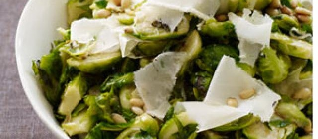 Sautéed Brussels Sprouts with Parmesan and Pine Nuts Recipe ...