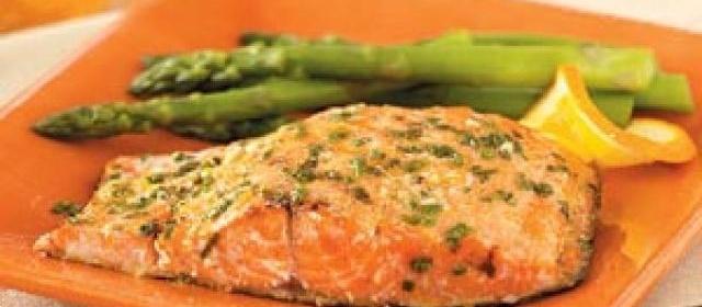 Grilled Orange Salmon