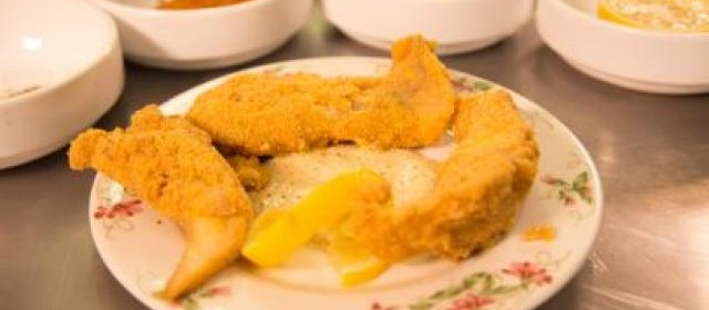 Catfish Fingers with Cajun Remoulade Sauce