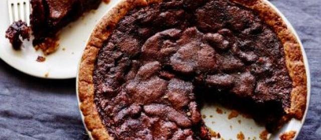 Bourbon And Chocolate Pecan Pie