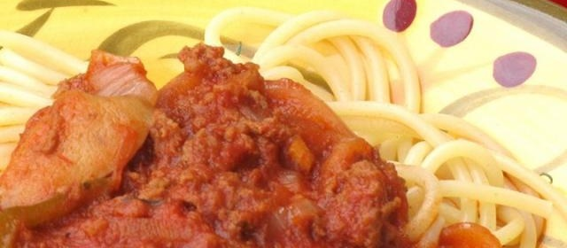 Dad's Spaghetti Sauce with Coffee
