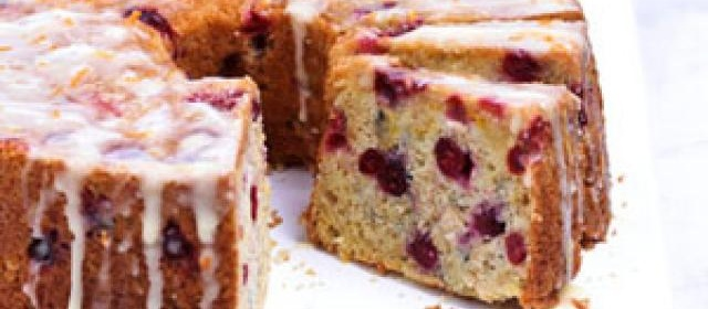 Orange-Cranberry Cake